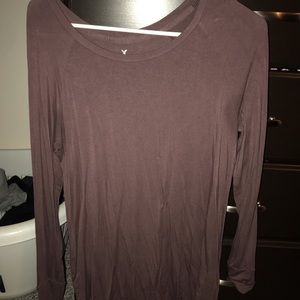 American Eagle Women's Soft and Sexy Long Sleeve